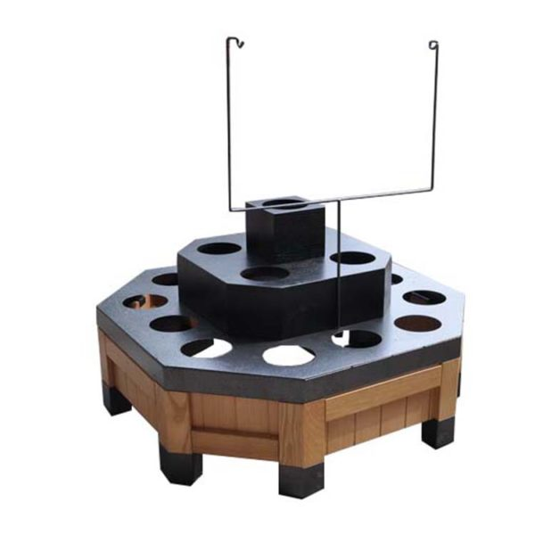 wooden flower display table - china factory manufacturer