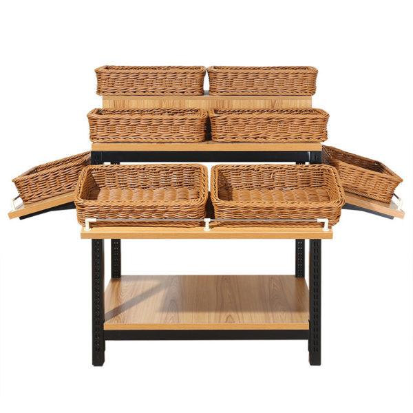Retail Display Tables With Baskets - China Factory